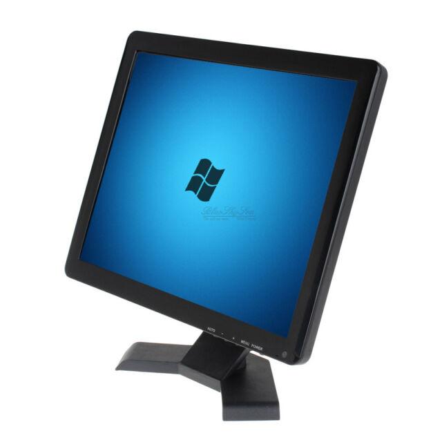 "15"" TFT LCD 1080p Camera Video Monitor HDMI VGA AV BNC For W7 W8 W10 PC SY"