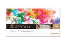 Watercolor Paint Mungyo Professional Pans Set 48 Color MWPH-48C