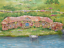 Indexbild 6 - Shire Hobbit village. The Lord of the Rings. Oil canvas.impressionism tolkien