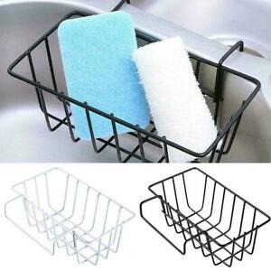 Dish-Cleaning-Drying-Sponge-Holder-Kitchen-Sink-Organiser-Storage-Stable-R0B5