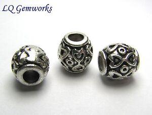 35 Couleur Argent Antique Base Métal 8mm Batterie Perles #420 Cwygyy52-07225504-187767492