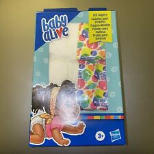 Baby Alive Doll Diaper Refill for Kids... Toys Accessories Includes 4 Diapers