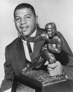1961 Syracuse ERNIE DAVIS Glossy 8x10 Photo Print College Heisman Trophy Winner