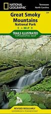 National Geographic Trails Illustrated Map: Great Smoky Mountains : National Park 229 by U. S. National Geographic Society Staff (2014, Map, Other)