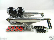 Independent 149 Stg11 Reynolds II Hollow Trucks + Bones 100s 52mm Black Wheels