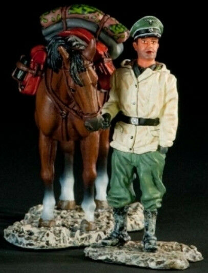 THOMAS GUNN WW2 GERMAN SS008A CAVALRY OFFICER DISMOUNTED WINTER 1944 MIB