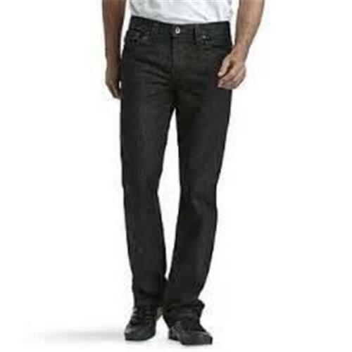 NEW MENS ROUTE 66 SLIM STRAIGHT LEG BLUE JEANS BLACK SIZE 40 30 36 29 42 38
