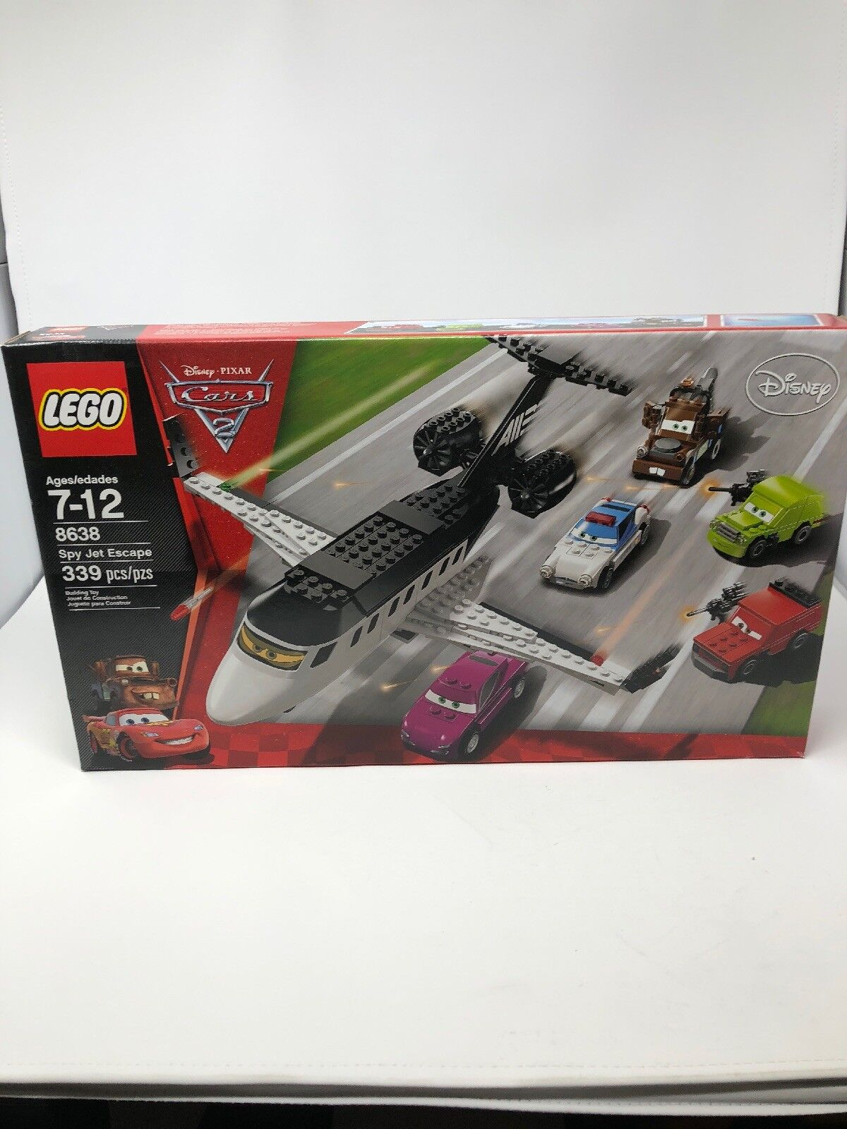 LEGO - Cars   SPY JET ESCAPE  - (Set ) - Brand NEW (Sealed Box)