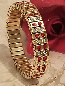 2ct-Ruby-Bracelet-Women-Wife-Birthday-Gift-Girlfriend-Swarovski-Diamond-24k-Gold
