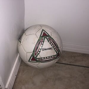 Spalding Proflite Size 5 Official Soccer Ball Waterproof Vintage 90's