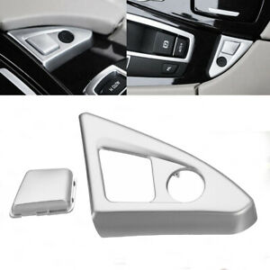 Innen-Auto-Knopf-Schalter-Abdeckung-Trim-Passend-fuer-BMW-5er-F10-520i-525i-11-16