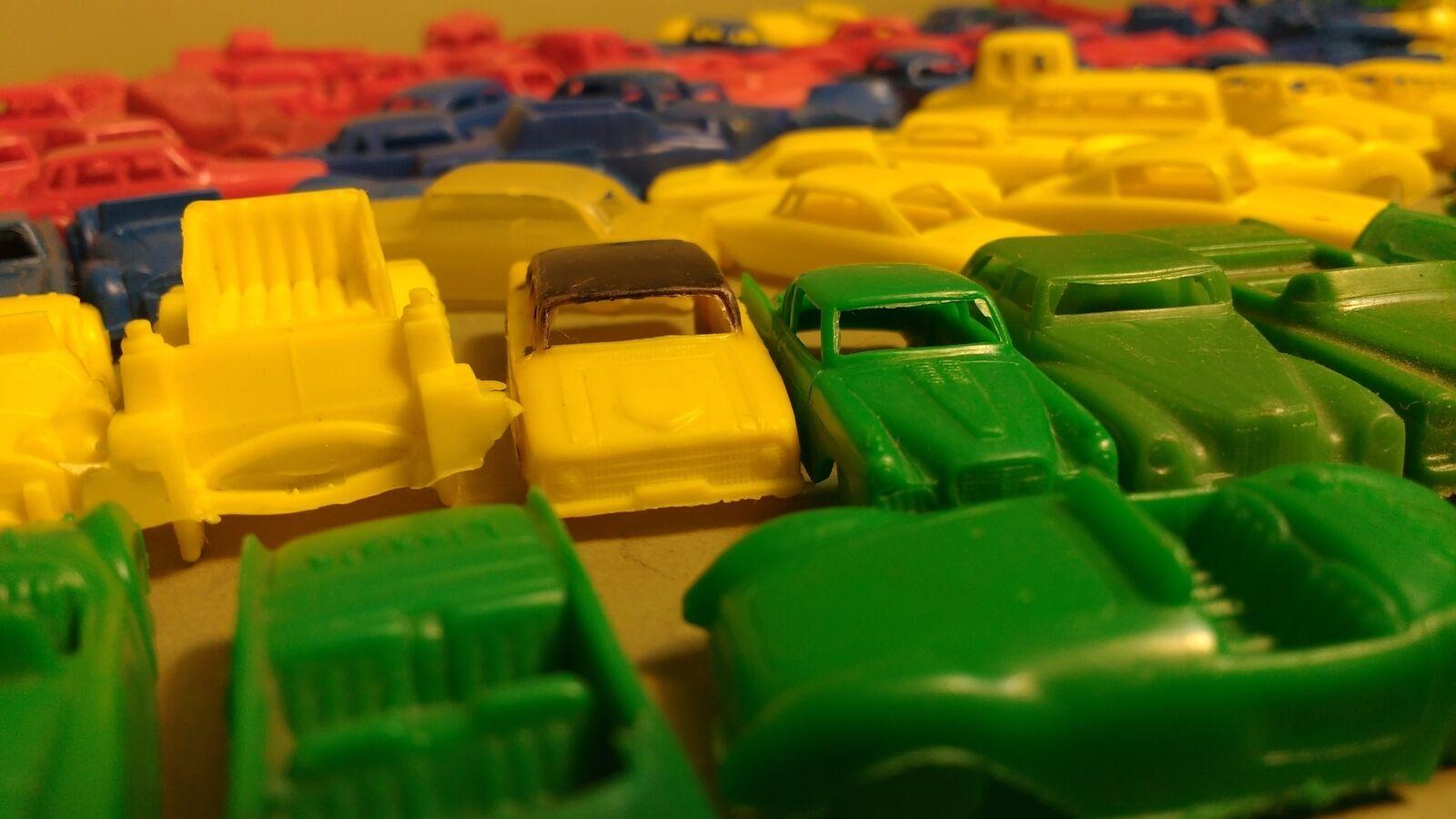 153 årgång Bearbetade plastbilar MPC USA STORA BRITANNIEN Diverse färger