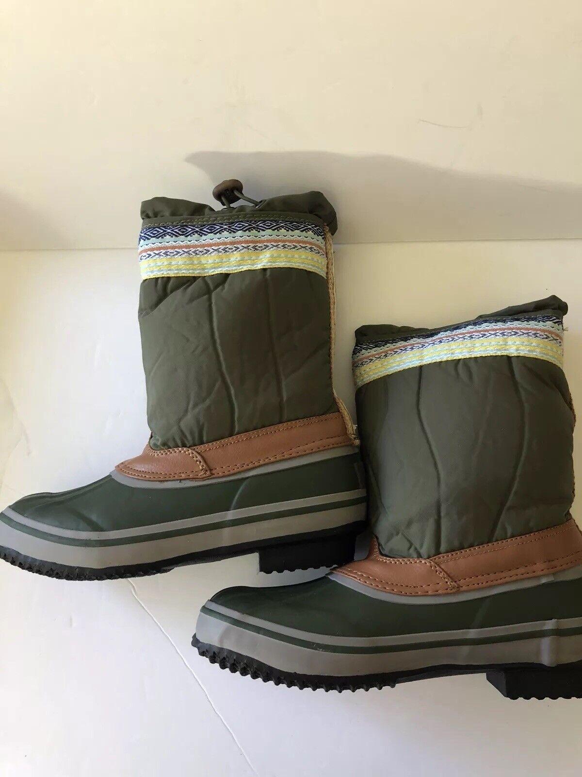 NEUF Le sac Daley Olive bottes de neige SZ 8