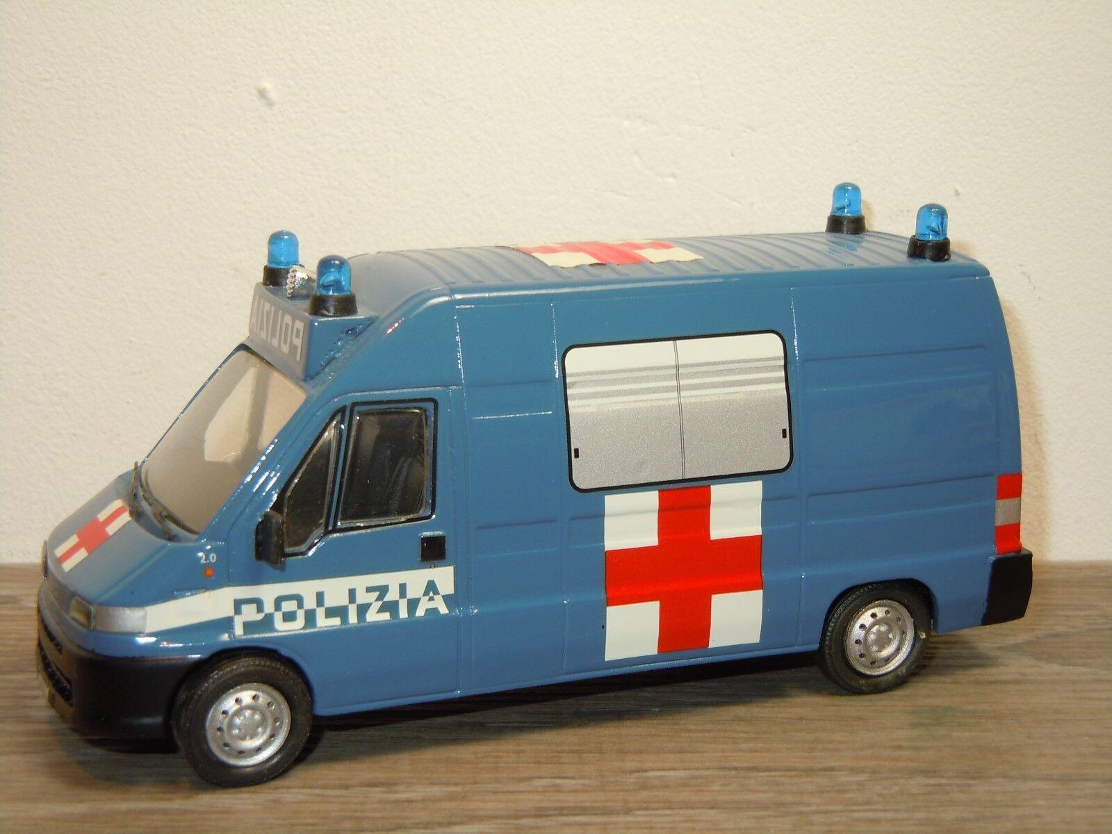 precios al por mayor Fiat Ducato Ducato Ducato Maxi Ambulance Polizia - Giocher 1 43 35575  autorización