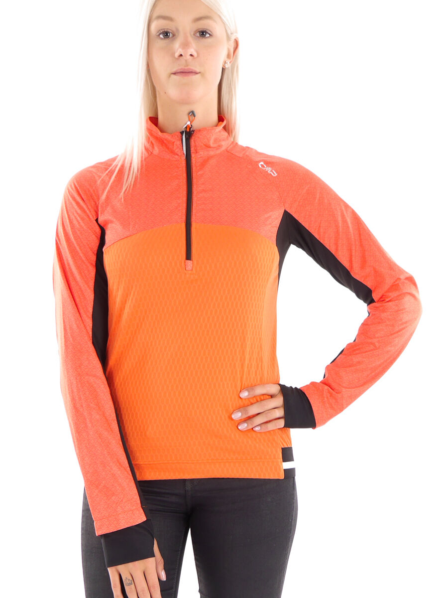 CMP Running Shirt Leisure Shirt Functional  Shirt orange Collar dryfunction  factory outlet online discount sale