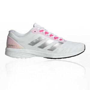 Adidas Femmes Adizero RC 3 Chaussures De Course Baskets Sneakers Blanc Sports