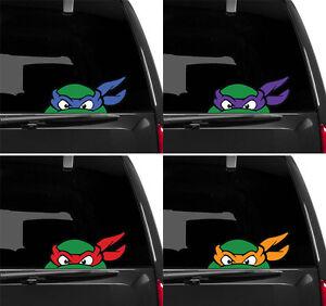 Fenetre-crucifere-decals-Ninja-Turtles-TMNT-Retro-Classique-Autocollant