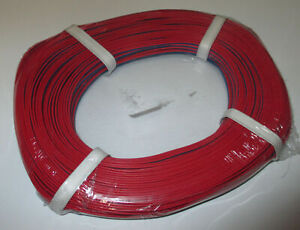1m-Twin-Braid-Wire-50m-Red-Blue-New