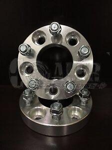 """1-5x4.5  Wheel Spacer 2/"""" inch Adapter bolt 12x1.5 5x114.3 Fit Mazda 5 Bolt Lug"""