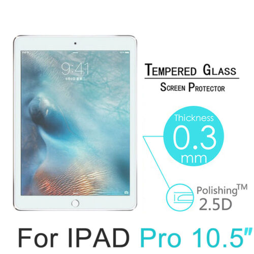 9H Genuine Tempered Glass Screen Protector Film Guard For Apple iPad Pro 10.5/""