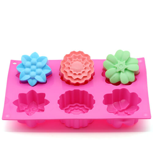 3D Silicone Soap Mold Cake Candy Chocolate Cupcake Cookie Mold Ice Cube Mould