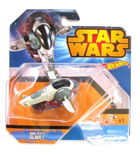 Hot Wheels Star Wars Boba Fett´s Slave I 6,5 cm