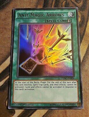 YUGIOH Anti-Magic Arrows DPBC-EN004 Ultra Rare 1st Edition Near Mint