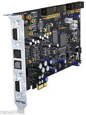 RME HDSPe AIO PCI-e soundcard - AES/EBU S/Pdif and analog I/O- NEW sealed item