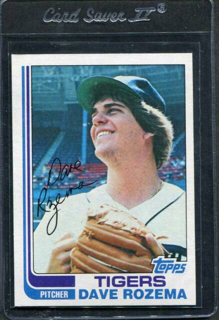 1982 Topps Dave Rozema #319 Mint