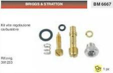 391233 KIT VITE REGOLAZIONE CARBURATORE BRIGGS & STRATTON DA 7 A 12 HP CV
