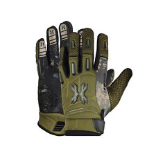 HK Army Pro Full Finger Gloves - Olive - Medium - Paintball