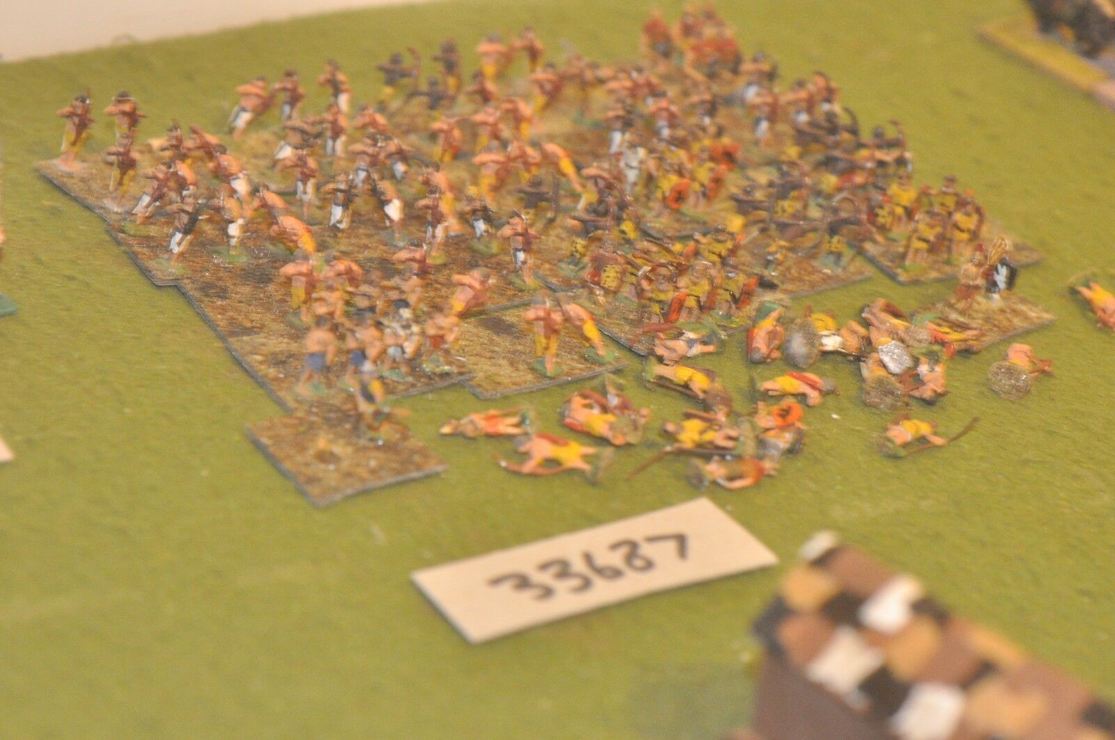 15mm biblical   egyptian - battle group (old school) 124 figures - inf (33687)
