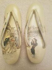 JAPANESE Kimono Zori Geta Sandals