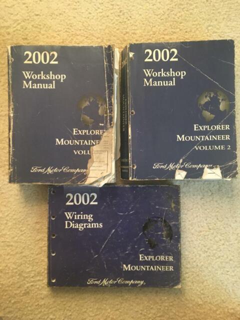2002 Ford Explorer Mountaineer Workshop Manual  U0026 Wiring