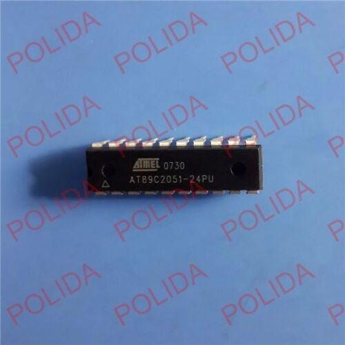 10PCS  IC ATMEL DIP-20 AT89C2051-24PU