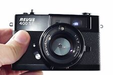 Revue 400 SE film camera 40 1.7 lens with case & strap full working
