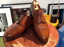 J.M. WESTON-PROTEGE TAN LACEUP CAPTOE - Mod 765/22 Derby - MADE IN FRANCE (12)