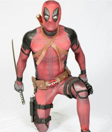 Ryan Reynolds Deadpool Costume Cosplay