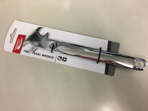 15mm Axle Nut Wrench Feedback Sports 15mm Pedal Wrench