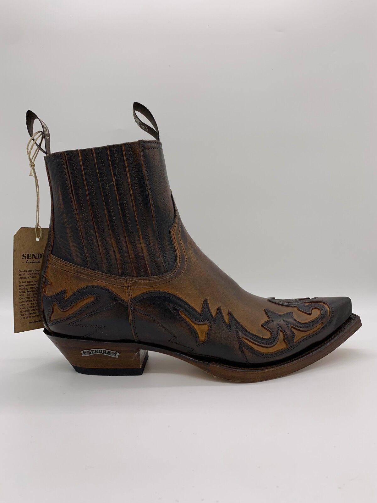 Sendra Stiefel Western Stiefelette Cowboystiefel Biker Boots inkl. Stiefelknecht