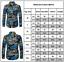Mens-Fashion-Casual-Long-Sleeve-Shirt-Business-Slim-Fit-Shirt-Print-Blouse-Top thumbnail 9