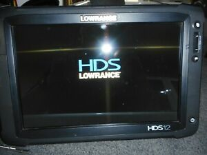 Lowrance-HDS-12-Gen-2-Touch-Fishfinder-Graph-SS-Transducer-Power-GPS-Bracket