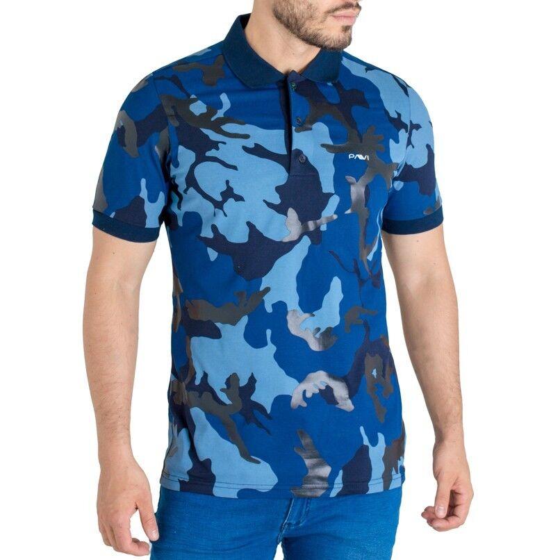 Pavi  Polo shirt Blau 05-0213 for men