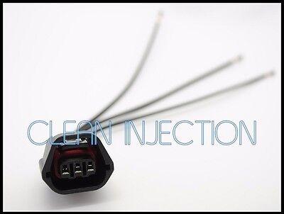 Mitsubishi lancer evo evolution camshaft angle position sensor connector pigtail