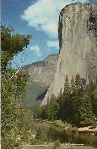 postcard-USA-California-Yosemite-National-Park-El-Capitan-unposted