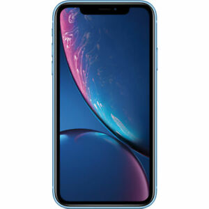 Apple iPhone XR Blue 64GB A1984 LTE GSM CDMA Verizon Unlocked - Very Good