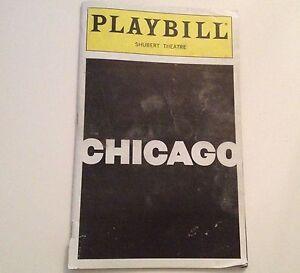 Playbill-2000-Chicago-Shubert-Theatre-Bebe-Neuwirth-Clarke-Peters-NYC-Theater