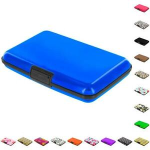 Color Business Credit Cards ID Wallet Holder Case Box Aluminum Metal
