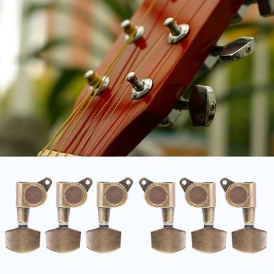 Guitar Tuning Pegs 3L 3R Locking Tuners Machine Heads Tuners Tuning Button Accessories for Acoustic Electric Guitar