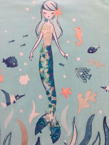 NWT Gymboree Girl Mermaid Cove Mint Mermaid Top /& Floral Shorts  4 5 7 10